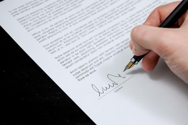 Sign Pen Business Document 48195 - Auster Inteligência Contábil